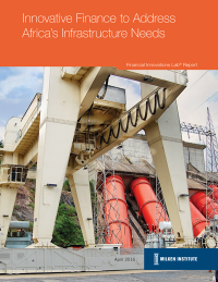 Africa Infrastructure Fin Innovation Lab Cover