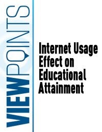 Internet Usage Effect on Educational Attainment