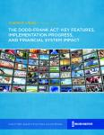 New current views The Dodd Frank Act cover only
