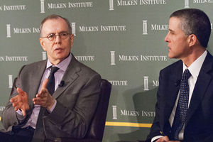 Authors James Barth, left, and Ross Levine argue for establishing a financial Sentinel with the authority to demand information and the ability to make an informed and impartial assessment of financial regulation.