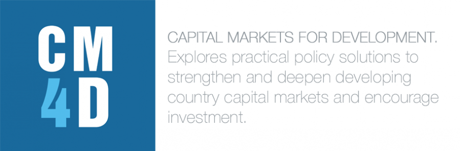 Capital Markets For Development. Explores practical policy solutions to strengthen and deepen developing country capital markets and encourage investment.